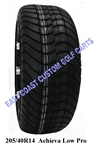 205/40R14 Achieva Low Profile Golf Cart Tire