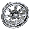 14x6 Centered Vegas Chrome Finish Wheel