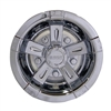10 Inch Vegas Chrome Wheel Cover Golf Cart Hub Cap