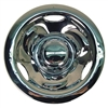 8 Inch Deep Dish Chrome Wheel Cover Golf Cart Hub Cap