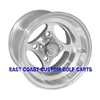 10x7 Indy Machined Aluminum Golf Cart Wheel