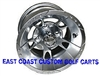 10x7 RX191 Chrome Golf Cart Wheel