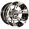 12x7 ITP SS 112 Machined Golf Cart Wheel