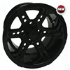 12x7 RHOX RX252 Black Golf Cart Wheel