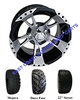 12x7 RHOX RX210 Wheel with Your Choice of Lifted Tire