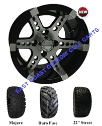 12x7 RHOX RX250 Wheel with Your Choice of Lifted Tire