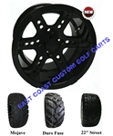 12x7 RHOX RX252 Black Wheel with Your Choice of Lifted Tire