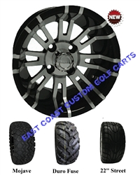 12x7 RHOX RX270 Wheel with Your Choice of Lifted Tire