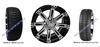 14x7 Vegas Wheel and Low Profile Tire