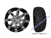 "14x7 Vegas Wheel with a 22"" All Terrain Tire"