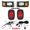 Yamaha G2/9 Black Head & LED Tail Light Kit #Y29-5-06KLED