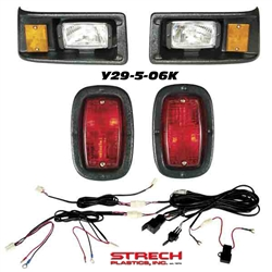 Yamaha G2 and G9 Black Head Light Kit #Y29-5-06KLED