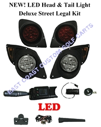 Yamaha Drive G29 LED Deluxe Street Legal Light Kit #LGT-507L