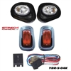 Yamaha Drive Black Head & LED Tail Light Kit #YDR-5-04KLED