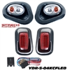 Yamaha Drive Carbon Fiber Head & LED Tail Light Kit #YDR-5-04KCFLED