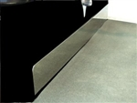 Yamaha G14-G22 Kick Plate in Stainless Steel