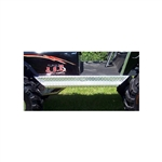 Yamaha G14-22 Diamond Plate Aluminum Running Boards