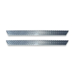 Yamaha G14-22 Rocker Panels in Diamond Plate Aluminum