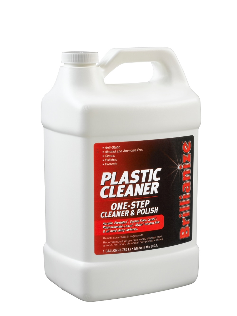 Cleaning & Maintenance Brillianize Plastic And Glass Cleaner Polish 8oz Buy One Get One Free