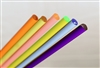 Fluorescent Pink-Red Extruded Acrylic Rod