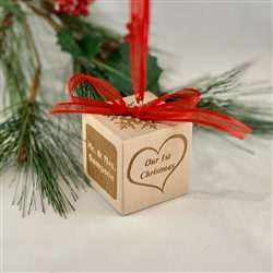 Christmas Ornament Personalized - Couple's First Christmas