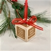 Christmas Ornament Personalized - Grandparent Block