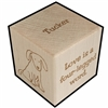 Pet Gift Personalized Block