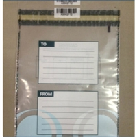 To/From: Clear Small Security Bags 200 x 265mm