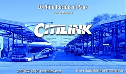 Reduced 10-Ride Card*