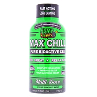 Hemp Bomb Max Chill 75mg CBD Shot - Pure Bioactive CBD