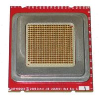 Socket R LGA2011 Red Interposer