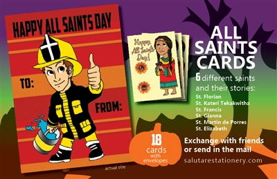 All Saints Cards