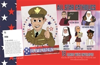 All Star Catholics Patriotic Cards for Kids