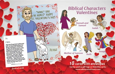 Biblical Characters Valentines