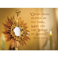 Blessed Sacrament Card for Priest or other Religious occasions.