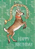 Deer Birthday Card