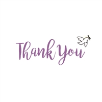 Dove Thank You Cards