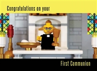 Brick First Communion