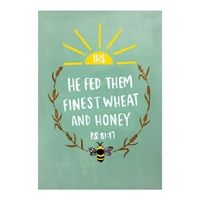 Gift of Finest Wheat First Communion Card
