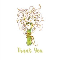 Consider the Lilies Thank You Cards