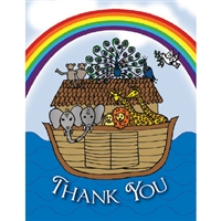 Noah's Ark Thank You Cards