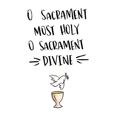 O Sacrament Card Set
