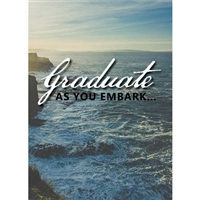Romans 5:3-5 Graduation Card