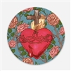 Sacred Heart of Jesus Vinyl Sticker