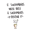 Sacraments of Initiation Greeting Card