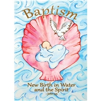 Shell Baptism Card
