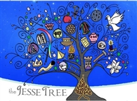 Jesse Tree Christmas Card Set