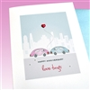 "Anniversary  "" Love Bugs ""  AN18 Greeting Card"