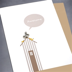 "Any Occasion  "" Awesome ""  ANY04 Greeting Card"