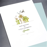 "Birthday  "" Grandma ""  BD193 Greeting Card"